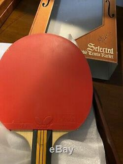 Table Tennis Racket Acoustic ST NE-6759 With Butterfly Rubbers