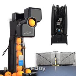 Table Tennis Robot Automatic Ping-pong Ball Machine Practice Recycle with 100 ball