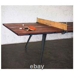 Table Tennis Rustic Reclaimed Wood Ping Pong Table The Game Room Store, N. J