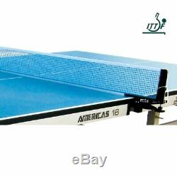 Table Tennis Table STAG INDOOR AMERICAS-16 25MM TOP (ITTF APPROVED)