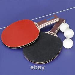 Tennis Table Indoor Outdoor Ping Pong Sport Ping Pong Table With Net And Post
