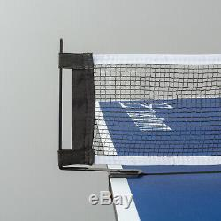 Tennis Table Outdoor Ping Pong Official Size Folding Table Play Gaming 4 Piece