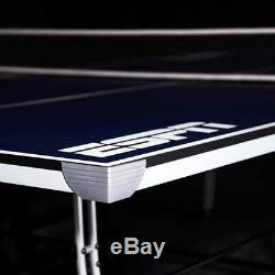 Tennis Table Ping Pong Outdoor Sports Game 4-Piece Backyard Family Party ESPN
