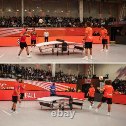 Teqball Lite Outdoor / Indoor Curved Football Table Tennis Table for Home & Club