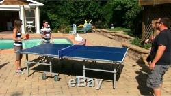 The Contender All Weather Outdoor Table Tennis Quality Ping Pong Table NG2336P