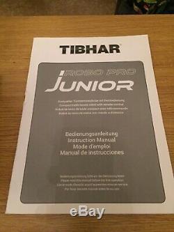 Tibhar Robo Pro Junior Table Tennis Robot