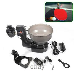 US Ping Pong Ball Table Tennis Robot Automatic Ball Machine Ball Trainer