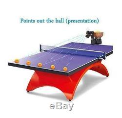 US SHIPPINGHP-07 Automatic Table Tennis Robot, Tennis-Ball-Machine