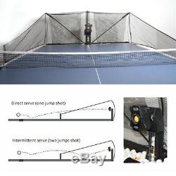 US Super Automatic Table Tennis Robot Ping Pong Pitching Machine Training with Net
