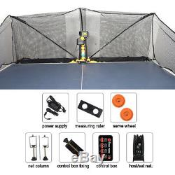 US Super Table Tennis Robot Standard Version Pingpong Training Machine Catch Net