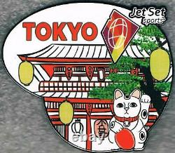Ultra Rare 2020 Tokyo Jet Set Sports Olympic Table Tennis Sponsor Prototype Pin
