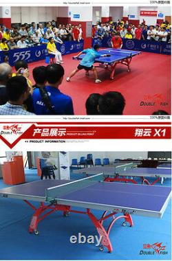 Unique & pretty Double Fish 328 X1 (cheaper/nice) Ping Pong table tennis table