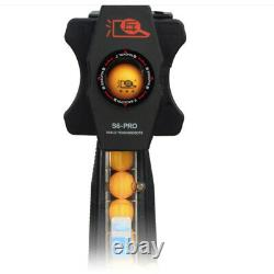 Updated S6-PRO Ping Pong Table Tennis Robot Automatic Ball Machine Recycle Net