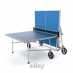 Vermont TS100 Table Tennis Table FOLDABLE Outdoor Ping Pong + Bats/Balls