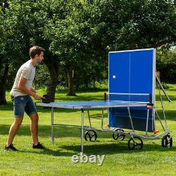 Vermont klappbarer Tischtennis-Tisch Ping Pong Set Tisch, Schläger & Bälle