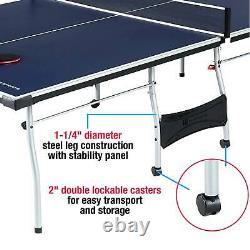 Waterproof Foldable Official Size Table Tennis Ping Pong With Paddle And Balls