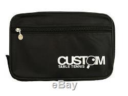 XIOM Stradivarius Offensive Custom Made Table Tennis Bat + XIOM Vega DF Rubbers