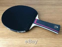 XIOM Stradivarius Offensive + Omega VII Europe Custom Made Table Tennis Bat