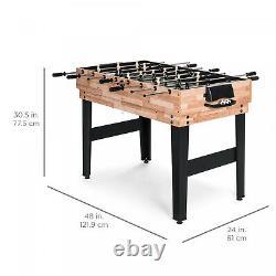 10-en-1 Combo Game Table Set Avec Pool Foosball Ping Pong Hockey Bowling Chess Fun