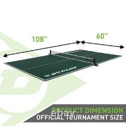 12mm 4-piece Indoor Table Tennis Table Ping Pong Conversion Top Folding Net