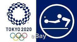 2020 Tokyo Jeux Olympiques D'été Totte19 Tennis De Table Médaille D'or Hommes Finale