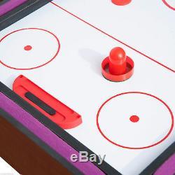 3 En 1 Mini Jeux Tennis De Table Billard Air Hockey Set Avec Accessoire