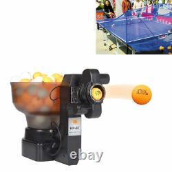 36w Hp-07 Ping Pong/table Tennis Robots Machine À Rotule Automatique Pour L'entraînement Bon