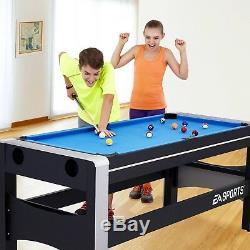 4 En 1 Air Hockey Ping Pong Tir À L'arc Table De Billard Tir À L'arc Billard Pivotant Jeu Nouveau