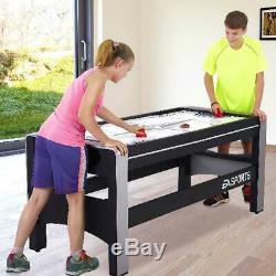 4 En 1 Air Hockey Ping-pong Tir À L'arc Billard Tir À L'arc Billard Pivotant Jeu Nouveau