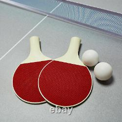 4-en-1 Famille Combo Jeu De Tennis De Table Billards Basketball Pool, 72 Pouces