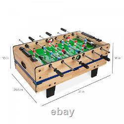 4-en-1 Ping Pong / Tennis De Table, Hockey, Billard, Foosball Table Game Combo