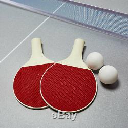 4-en-1 Pivotant Combo De Table De Hockey Sur Table De Billard Tennis De Table De Basketball 72 Nouveau