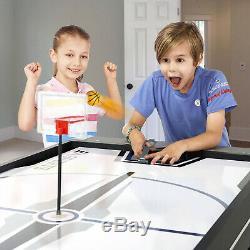 4-in-1 Combo Swivel Table De Jeu De Hockey Billard Tennis De Table Basketball 72 Nouveau