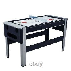 54 Billard De Billard De Billard 4in1 Table De Hockey Tennis Table De Jeu D'arcade Convertible