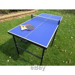 60 Table Tennis Portable Ping Pong Set Plier De Voyage Jeu Avec Pagaies Et Couilles