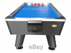 8 Pieds Club Table Pro Hockey Air Par Berner Billard Avec Ping Pong Conversion Top