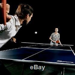 9' Ping-pong Tennis De Table 108 X 60 Mdf De 15 MM Avec Pagaies
