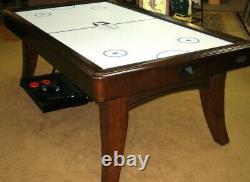 Air Hockey 7' & Ping Pong 2 En 1 Table De Jeu La Salle De Jeux Magasin Nj Réduit