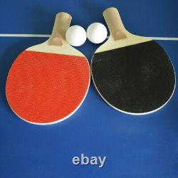 Air Hockey Pool Billiard Table De Jeu De Tennis De Table 48 3-en-1 Accessoires Inclus