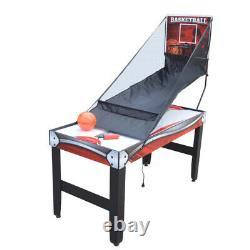 Air Hockey Table De Basket-ball De Table De Basket-ball 52 3-en-1 Accessoires Inclus