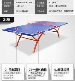 Assez Fort Extérieur, Table De Ping-pong Intérieur Professionnel De Tennis Pré-commande