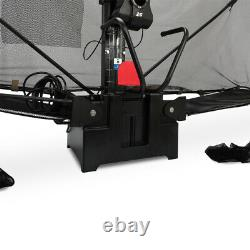Automatique Robot Tennis De Table De Ping Pong Train Machine Net Réglable Et Catch