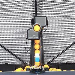 Automatique Robot Tennis De Table De Ping-pong Train Machine Avec Epuisette Nouveau