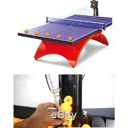 Automatique S6-pro Robot Tennis De Table De Ping-pong Machine Multi-rotatio 50w