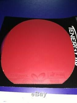 Beaucoup De 4x Papillons Tenergy 05 64 Caoutchouc De Tennis De Table Ping Pong Très Bonnes Conditions