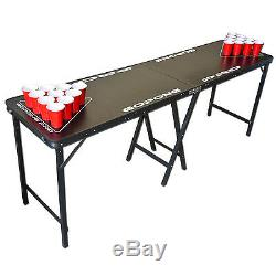 Bière Portable Pong Party Intérieur Extérieur Boisson Table De Jeu 8ft Pro Series Année