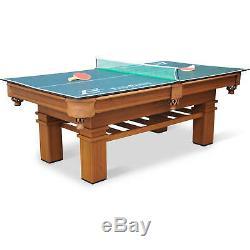 Billard Set De Table De Billard 87 Eastpoint Avec Table De Ping-pong, Jeu Intérieur