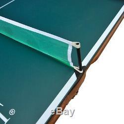 Billard Table De Ping-pong Table De Ping-pong Top Salle De Jeux Intérieure