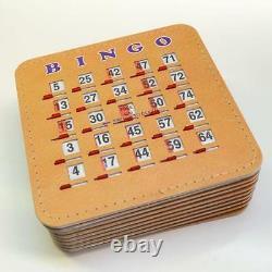 Bingo Cage Red 15 Avec 75 Balls Tableau Tennis Masterboard Et 10 Soins De Shutter