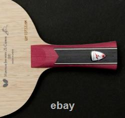 Butterfly Mizutani Jun Zlc Blade Tennis De Table, Raquette De Ping-pong
